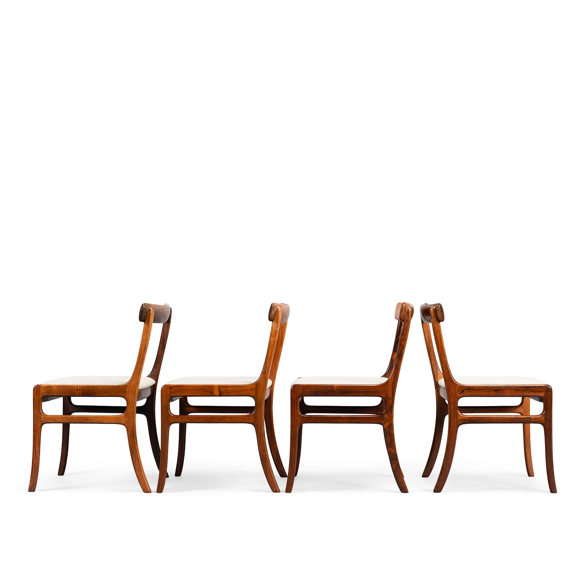 Rungstedlund stoelen, set of 4