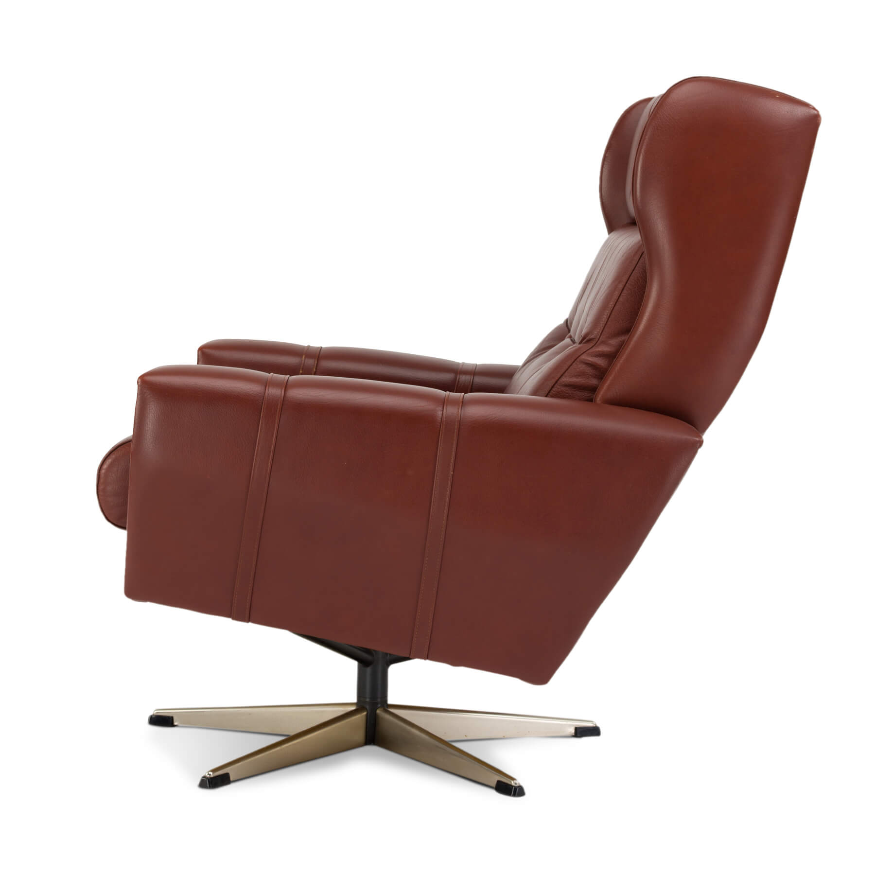 Miraculous Danish Leather Swivel Chair Furnip Pdpeps Interior Chair Design Pdpepsorg