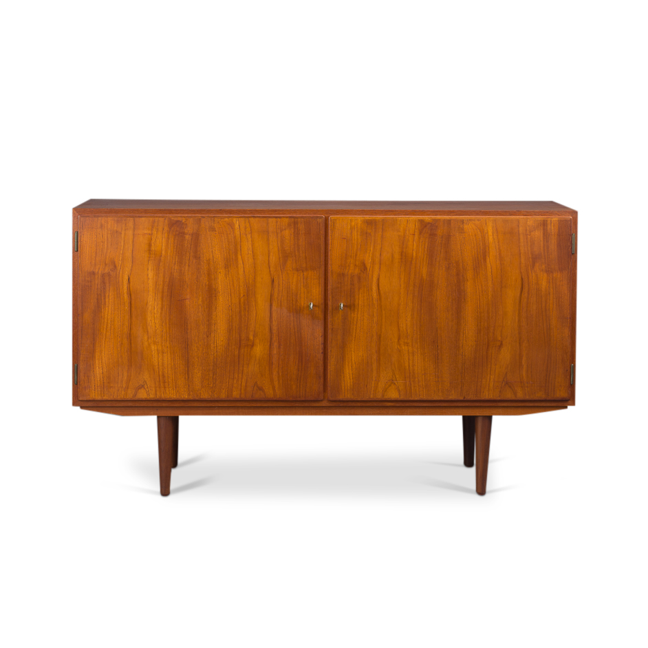 Sunburst teak dressoir