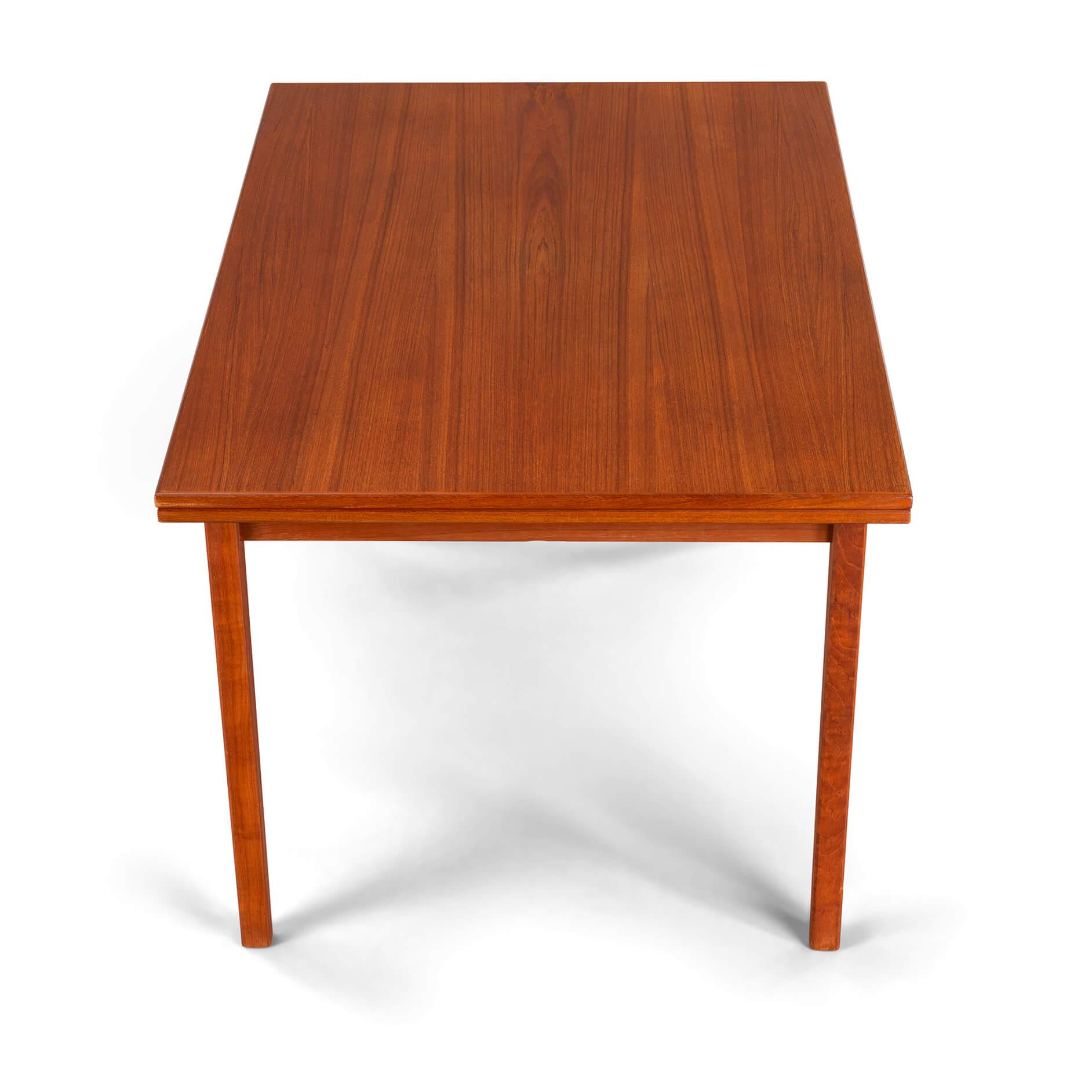 Eetkamer Tafel Teak.Sold Eetkamer Tafel Teak Furnip Mid Century Design