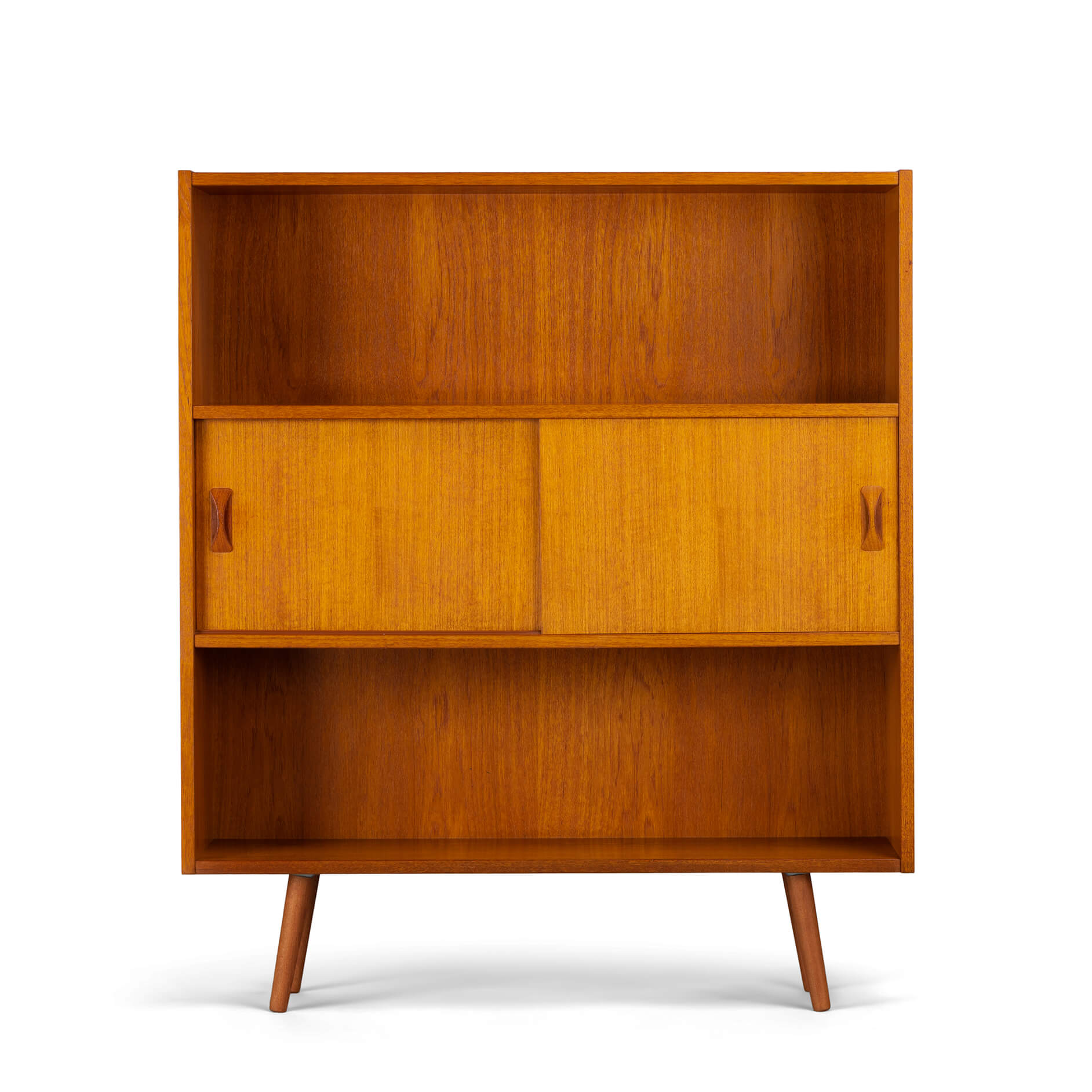 Teak small bookcase