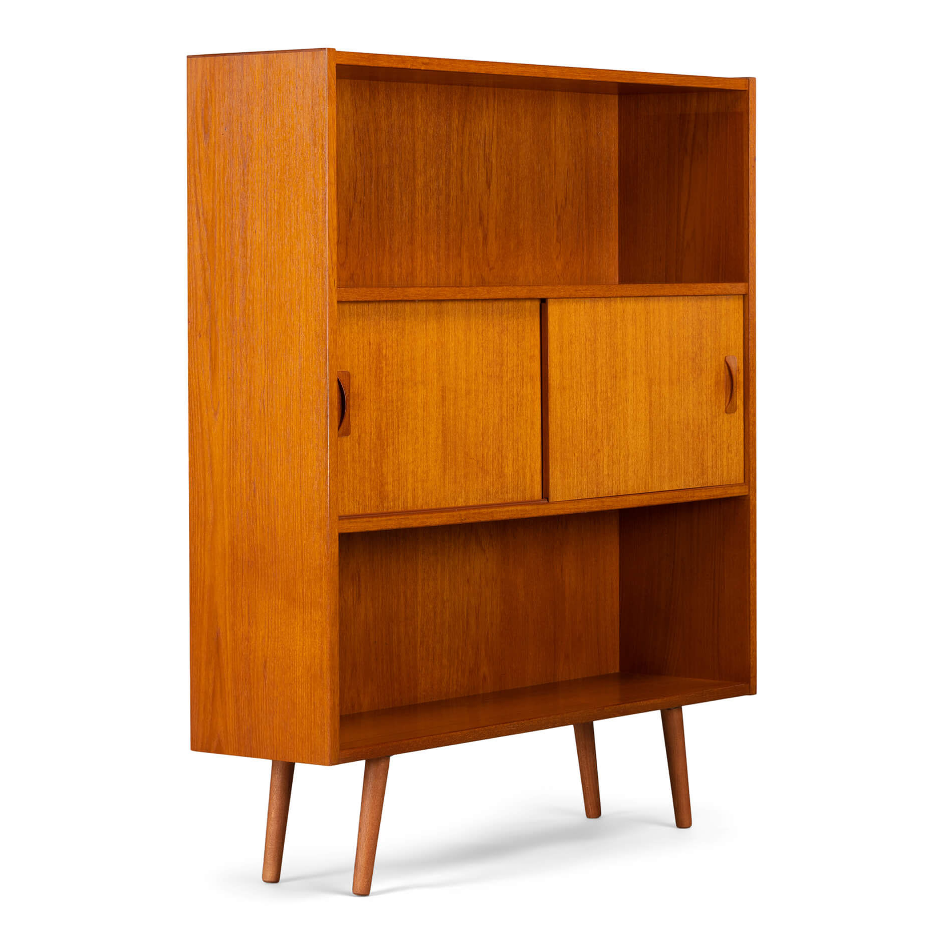 Teak Small Bookcase Furnip